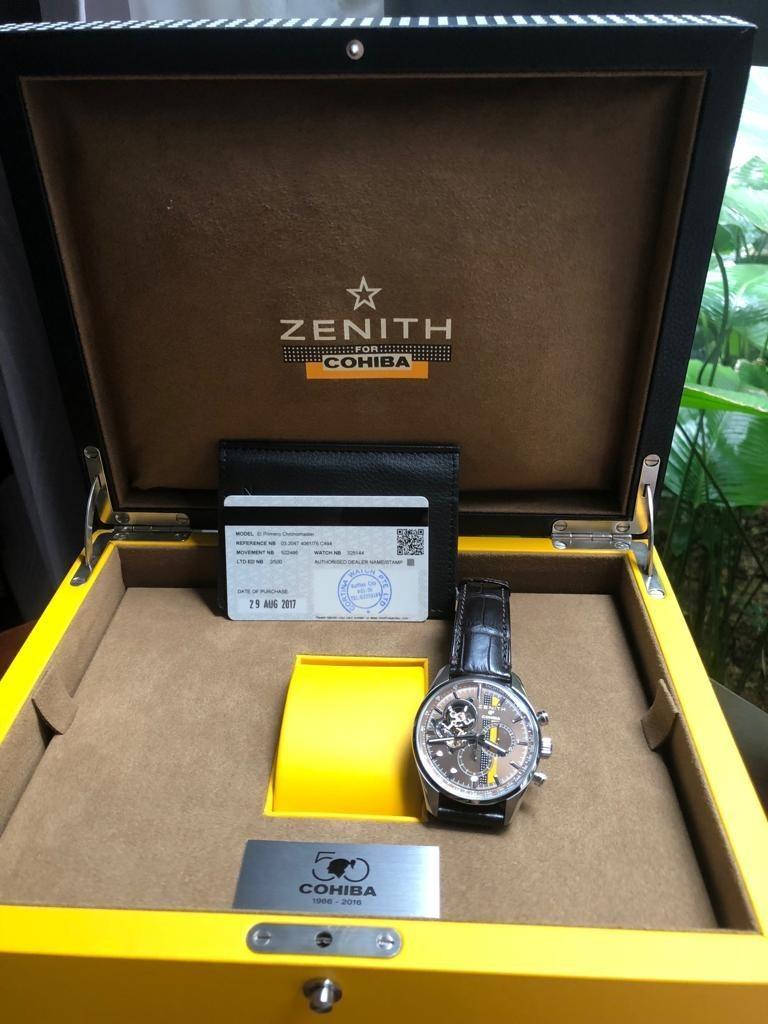 Zenith El Primero Legend of COHIBA