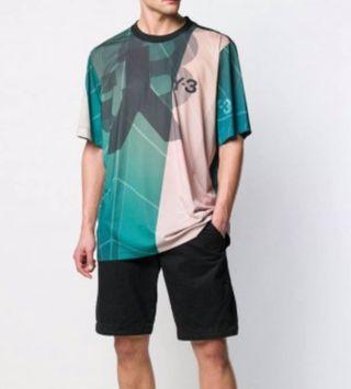 Adidas Y-3 AOP Football Shirt  綠白款