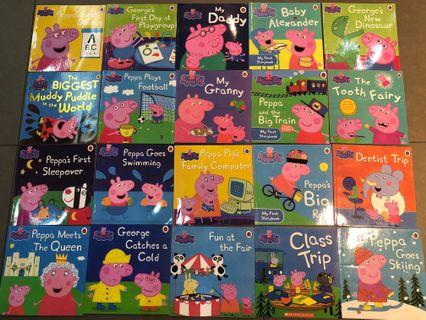 🚚 Pepper pig story book collection 20 books