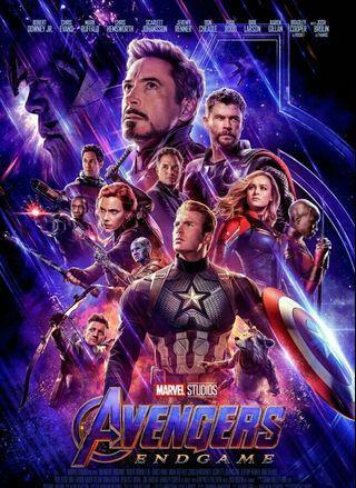 Avengers: Endgame 復仇者聯盟4海報 全新
