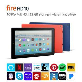 🚚 NEW Amazon Fire HD 10 Tablet 1080p 32GB with Special Offers