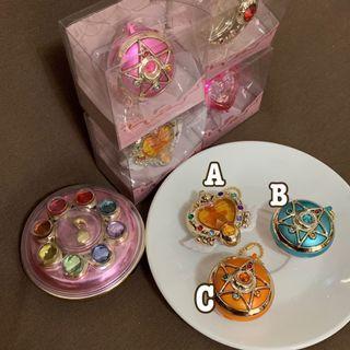 🚚 美少女戰士 月光寶盒 變身器 食玩 糖果盒 吊飾 改造悠遊卡