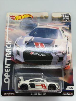 Hot Wheels Car Culture Open Track Audi R8 LMS