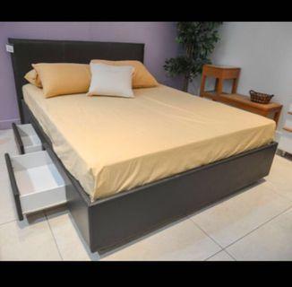 單人床連儲物櫃桶 Single Bed with storage