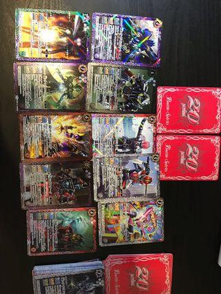 Battle Spirits Kamen Rider Cards #EST50