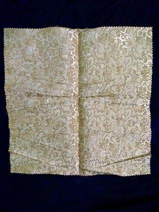 方形織綿墊布 餐巾 餐桌巾 花瓶墊布 沙發墊布 Napkin Table towel