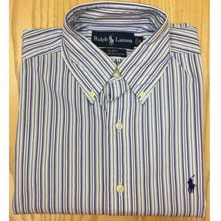Polo Ralph Lauren L/Sleeve Office Shirt Used #39