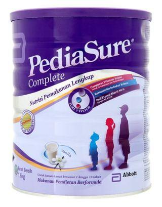 🚚 Pediasure vanilla flavoured 1.6kg