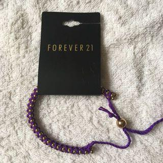 Forever 21 金屬手繩