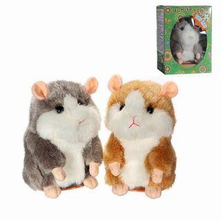 Mimi cry plush toy hamster