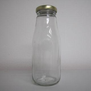 🚚 'Starbucks' square-round glass bottles (275 ml)