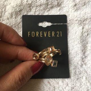 Forever 21 民族指環套裝(6 Pieces)