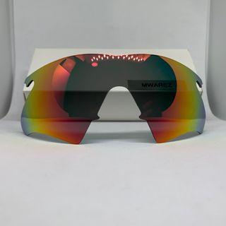 M Frame Heater Ruby Red POLARIZED Dym Replacement Lense For Oakley M Frame Sunglass