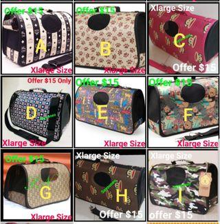 Pet Carrier Offer Now $15 Xlarge