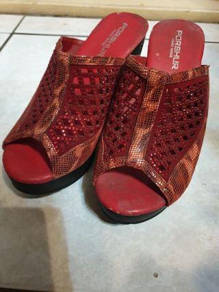 🚚 魚嘴涼鞋 休閒鞋