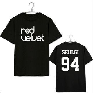 Pre-order: Red Velvet double side shirt
