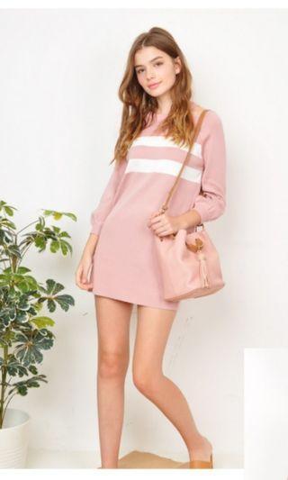 Purpur knit dress