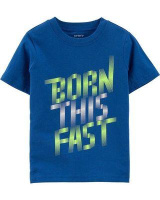 Carter's BORN THIS FAST T-shirt