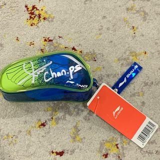 Li-Ning Pouch Bag Personally Signed by Chan Peng Soon and Iskandar Zulkarnain #SnapEndGame