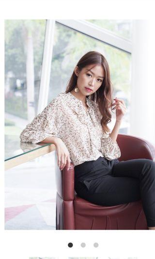 Seoulsuitcase floral top