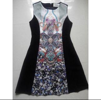 韓國 斯文裙 Korea Dress! (Made in Korea) Nice cutting!