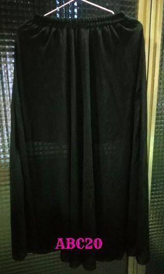 (二手近全新)雪紡長裙  #半價衣服拍賣會