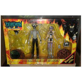 絕版 Fewture DEVILMAN 惡魔人系列 Premium Boxed Set action figure 1盒
