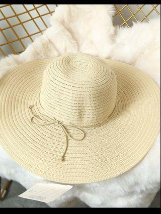 沙灘草帽 hat summer