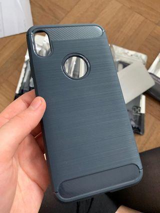 🚚 INSTOCK IPhone XS Max SOFT TPU Carbon Fibre Casing