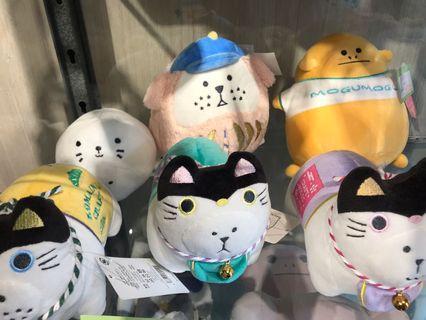 日本帶回全新付吊牌宇宙人 CRAFTHOLIC 吉祥物 INU-KUN 不倒翁 達摩DARUMA 絨毛公仔 擺飾 玩偶