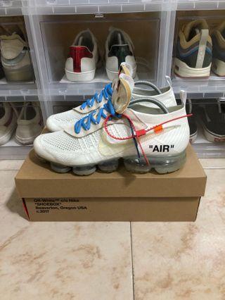 Nike Off White Vapormax US10.5