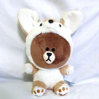 Line Bear Outfit Plush Toy