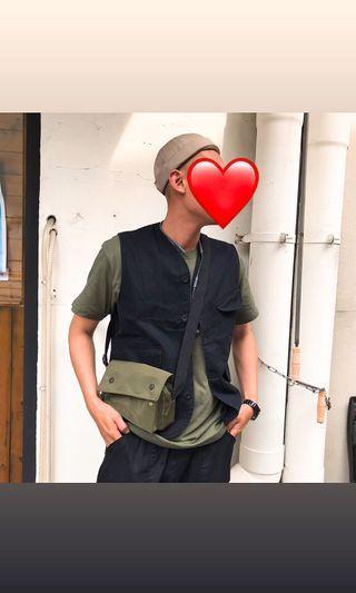 Otoshi 日系 純色 復古 水手 海軍 水兵帽 帽子