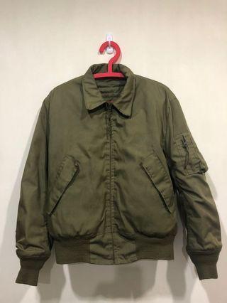 美國軍用公發cvc外套 vintage 黃金m號