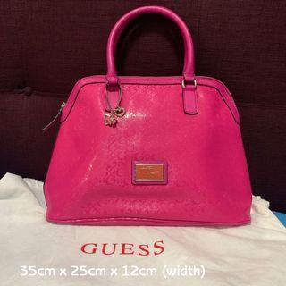 🚚 Original Guess pink bag