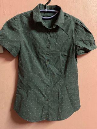 Padini puff sleeve shirt