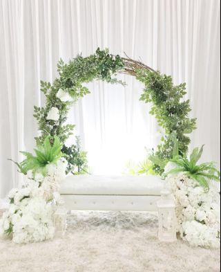 Pelamin wedding decorations packages