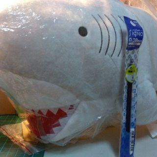 🚚 鯊魚玩偶/娃娃/抱枕
