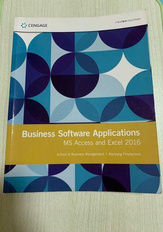 Business Software Applications (MS Access and Excel 2016)