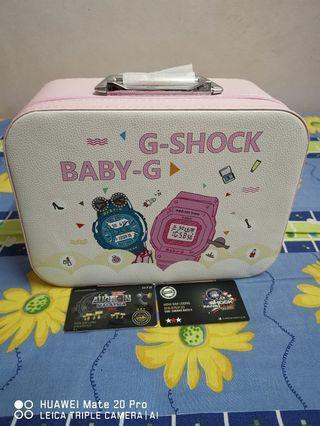 Storage box g shock/baby g +bottle casio