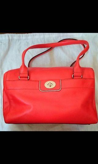 Kate Spade Orange Handbag