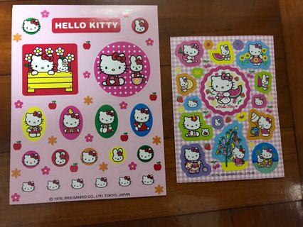 Hello Kitty 貼紙 (Sanrio) 2000,2009年