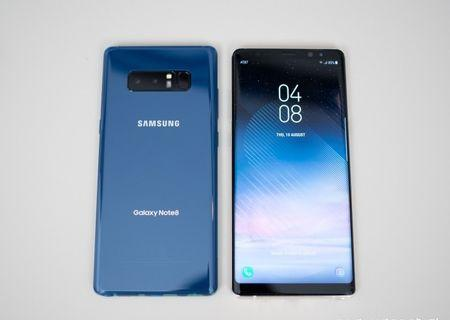 note 8 128GB 95% 100%work blue original 2 sim 行貨藍色雙卡