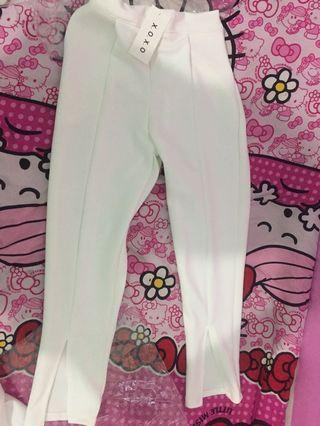 White Pants   celana   kulot