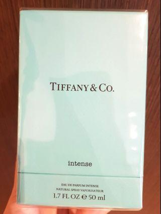 NEW SEALED 50ml Tiffany & Co INTENSE T&Co bag & receipt envelope