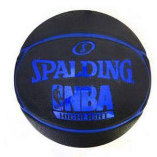 寶林站 Spalding Highlight 膠籃球 Basketball (Rubber) (藍 Blue)