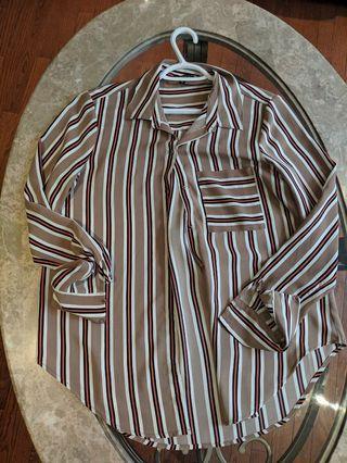 Dynamite casual dress shirt sz M