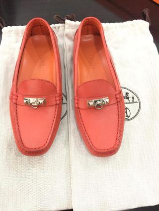 Hermes driving shoes