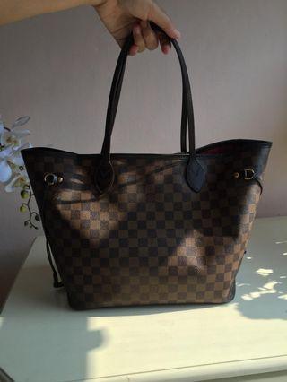 Louis Vuitton Neverfull damier 2011