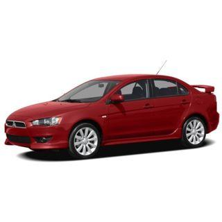 Sports Sedan Rental Mitsubishi Lancer EX Quality & Affordable Sedan